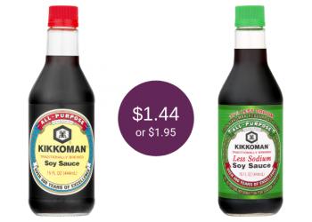 Kikkoman Coupons = as Low as $1.44 for Soy Sauce at Safeway