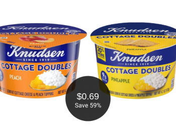Knudsen Cottage Cheese Coupon = $0.69 Each at Safeway