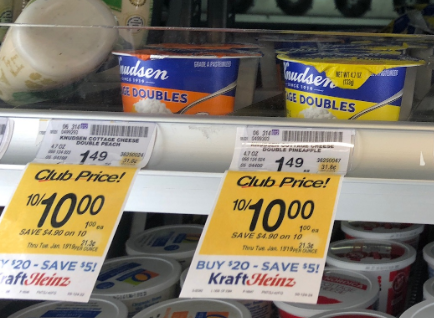 Knudsen Cottage Cheese coupon