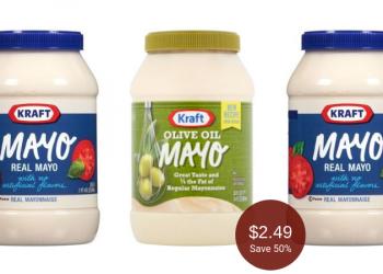 Kraft Mayo on Sale, Pay $2.49 at Safeway