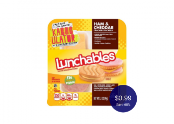 Oscar Mayer Lunchables for $0.99 at Safeway