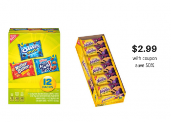 Nabisco Multipack Snacks Just $2.99 With Coupon at Safeway