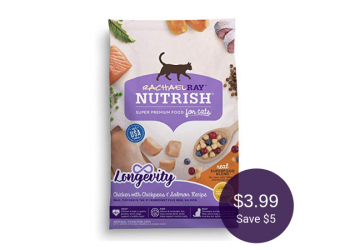 Nutrish Dry Cat Food Coupon & Sale, Pay $3.99 (Save $5 at Safeway)