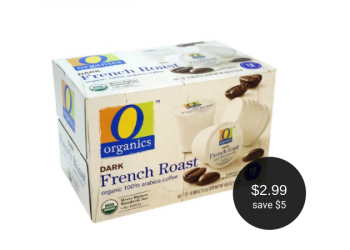 O Organics Coffee for $2.99 at Safeway (Save $5)