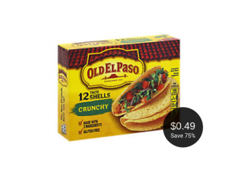 Old El Paso Taco Shells Deal = as Low as $.49 at Safeway