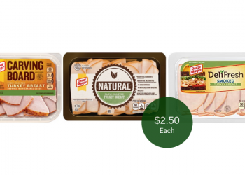 Oscar Mayer Deli Fresh, Carving Board, & Natural on Sale = $2.50 at Safeway