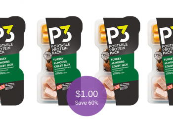 P3 Protein Snacks for $1.00 Each at Safeway (Save 60%)