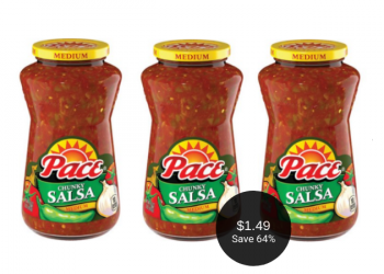 Pace Salsa or Picante Sauce for $1.49 at Safeway After Deal