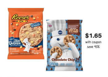 Save 45% on Pillsbury Ready To Bake Cookie Dough – Just $1.65 With Coupon at Safeway