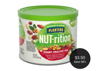 Planters Nut-rition for $3.50 at Safeway (Save 58%)