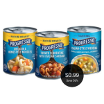 Progresso Soup on Sale for $0.99 Per Can at Safeway