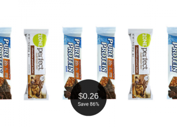 Pure Protein & ZonePerfect Bars for as Low as $0.26 Each at Safeway