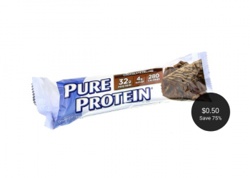 Pure Protein Bar Coupon = $0.50 Each at Safeway
