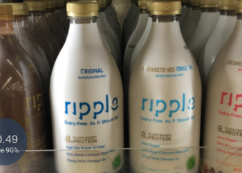 HIGH-VALUE Ripple Milk Coupon = $0.49 for Plant-Based Milk at Safeway