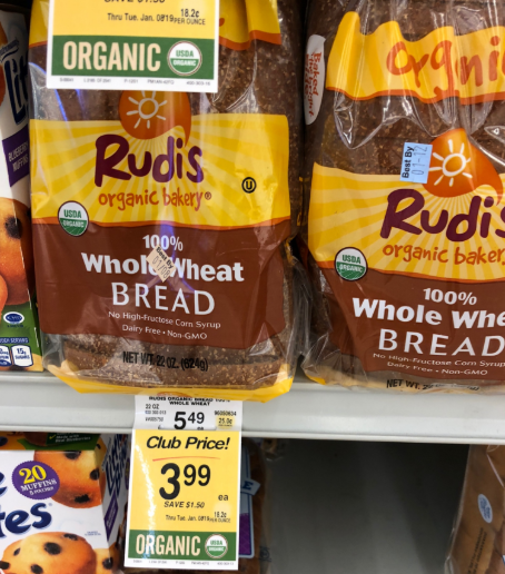 Rudi's Organic Whole Wheat Bread