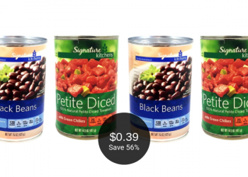 Signature Kitchens Beans or Tomatoes for $0.39 Each at Safeway