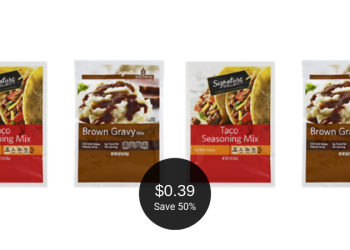 Signature Kitchens & Signature SELECT Gravy or Seasoning Mixes for $0.39 Each at Safeway