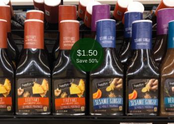Signature SELECT Marinade for $1.50 (Save 50% at Safeway)