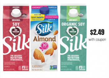 New Silk Coupons for Almond, Soy and Cashew Milk Sale at Safeway
