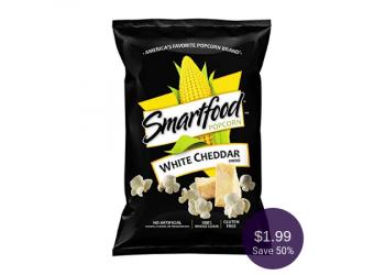 Smartfood Popcorn for 50% Off at Safeway (Pay $1.99)