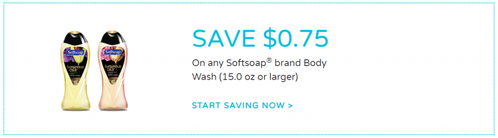 Softsoap Body Wash coupon