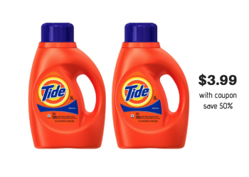Tide Laundry Detergent for ONLY $3.99 at Safeway After HOT Deal