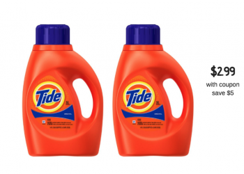 $3.00 off Tide Coupons Available to Print – Pay just $2.99 for Tide Detergent 50 oz at Safeway