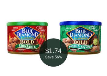 Blue Diamond Almonds Coupon & Sale = $1.74 at Safeway