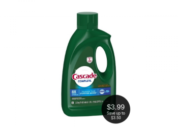 Cascade Complete Gel Just $3.99 With Coupons at Safeway