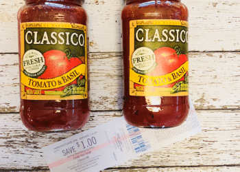 HOT ? Classico Pasta Sauce Coupon and Catalina, Pay Just $.49 Each at Safeway
