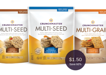 Crunchmaster Crackers Coupon = $1.50 at Safeway (Gluten-Free)