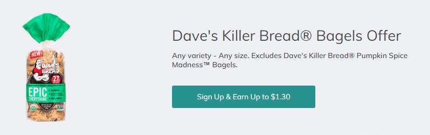 Dave's Killer Bread Bagels