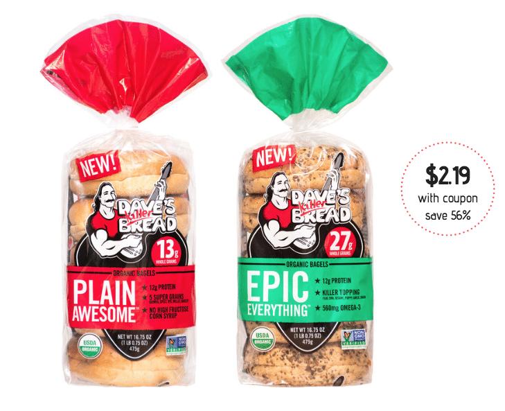 Dave's Killer Bread Organic Bagels