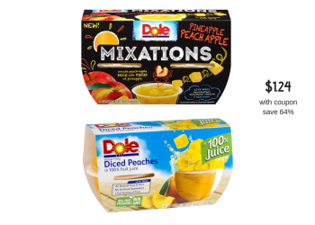 Dole Fruit Bowls Just $1.24 With Sale and Coupon at Safeway