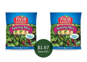 Fresh Express Salad Blends for $1.67 at Safeway