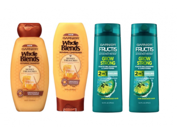 New Garnier Whole Blends Coupon and Fructis Coupon and Sale, Pay as Low as $.99 at Safeway