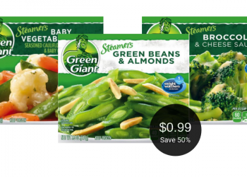Green Giant Steamers Veggies Just $.99 at Safeway, Save 50%