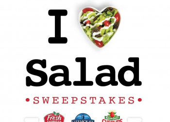 I Heart ? Salad Sweepstakes – Enter to Win Free Salad For a Year + Trendy Kitchen Gear