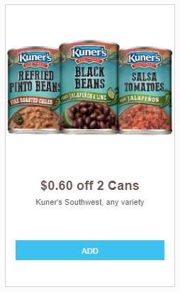 Kuner's refried beans
