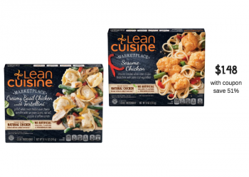 New Lean Cuisine Catalina and Sale, Pay Just $1.48 for Each Entree