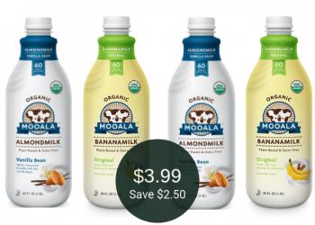 Mooala Almondmilk & Bananamilk for $3.99 at Safeway | Plant-Based, Dairy-Free, & Nut-Free