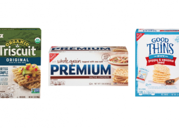 Nabisco Organic Triscuits, Premium Saltines and Snack Crackers $1.00 – $1.50 After Coupons at Safeway