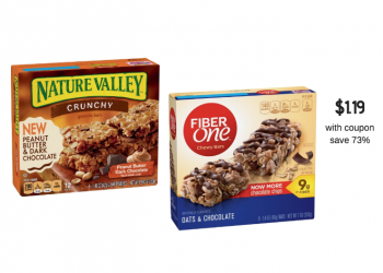 Fiber One & Nature Valley Bars for as Low as $1.19 at Safeway
