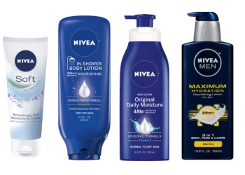 Nivea Lotion and Body Wash as Low as $2.24 at Safeway