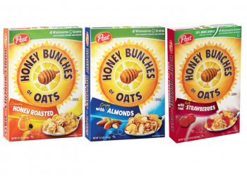 New Honey Bunches of Oats Cereal Coupons and Sale, Pay as low as $.94 Per Box at Safeway (Reg. $3.99)
