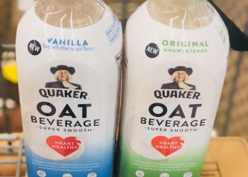 NEW Quaker Oat Beverage at Safeway, Pay Just $.99 After Coupon