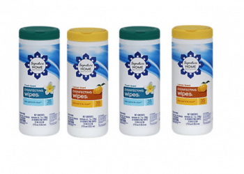 Signature Home Disinfecting Wipes Just $.99 Each at Safeway, Save 68%