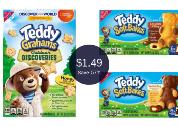 Teddy Grahams for $1.49 After Coupon & Sale at Safeway