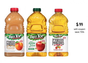 Tree Top Apple Juice Just $.99 at Safeway (Reg. $3.99)
