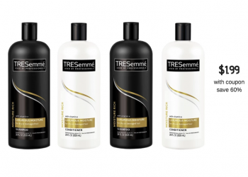 TRESemme Coupon = $1.99 Shampoo or Conditioner at Safeway
